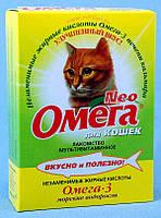 Омега Нео Витаминно-минеральный комплекс для кошек с морскими водорослями, уп. 90 таб.