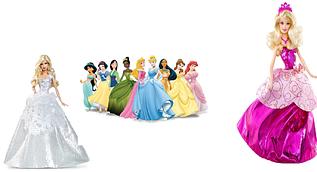 Barbie и принцессы Disney