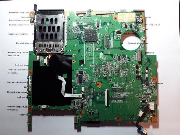 Материнская плата (нерабочая)  Acer TravelMate5520  оригинал б.у., фото 2