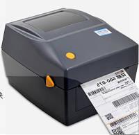 Термопринтер этикеток, наклеек, штрих-кода Xprinter XP-460B 112мм  подходит для Новая Почта штрих-кода  + Лото