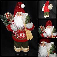 Санта Новогодний с подарочками, высота около 40 см., 370 гр.