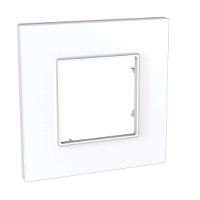 Рамка одноместная Белый Schneider Electric Unica Quadro (mgu2.702.18)