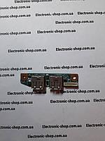 Плата разъемов  USB  Sony PCG -7154M  оригинал б.у.