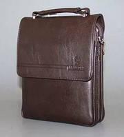 Мужская сумка Bradford 98336-5 для документов А4 на пять отделов искусственная кожа 26х32х9см Коричневый, фото 1