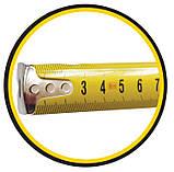 Рулетка  8м х 25мм, пластиковый корпус, фото 3