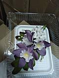 Букет орхідеї великої з листками і дзвіночками L 250, фото 9
