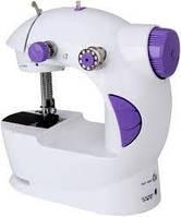 Мини швейная машинка 4 в 1 Mini Sewing Machine портативная с педалью