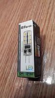 Светодиодная лампа капсульная Feron LB420 G4 12V 2W