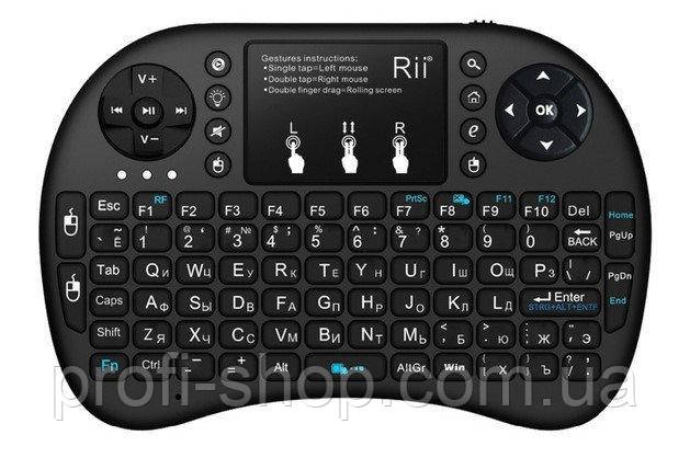 Беспроводная мини-клавиатура Mini Keyboard i8. Компьютерная мини клавиатура MINI KEYBOARD.