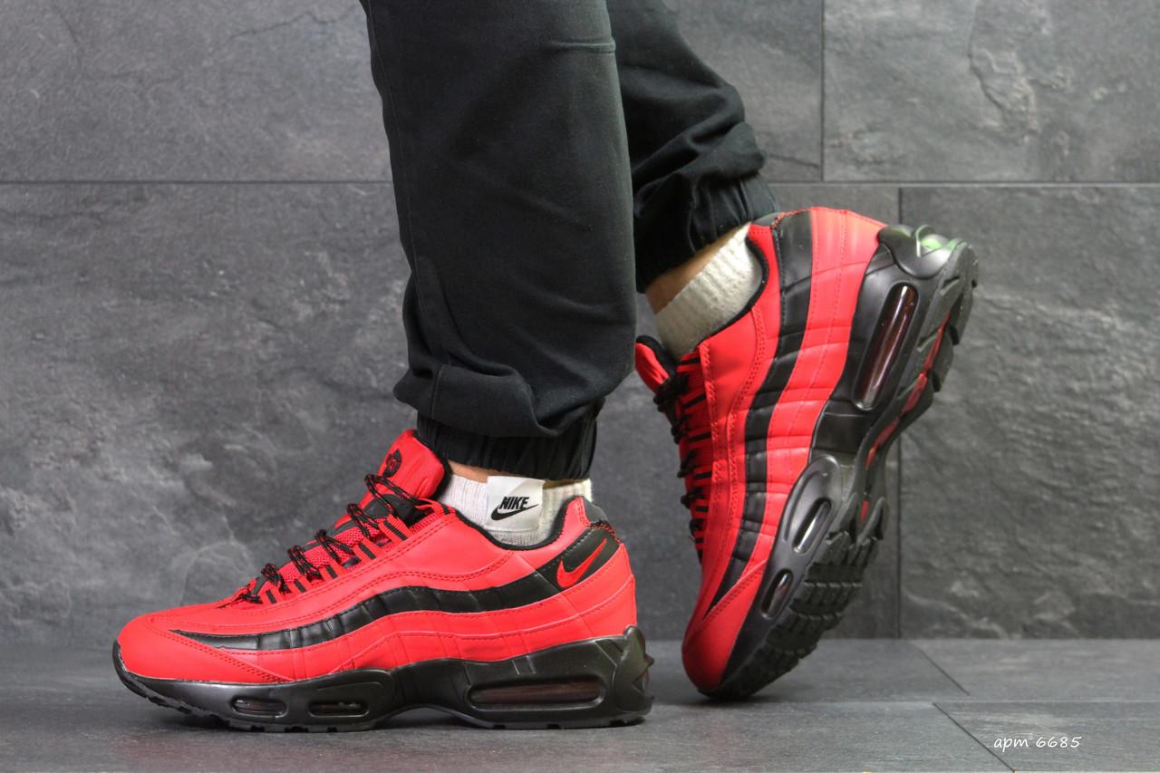 Мужские зимние кроссовки Nike Air Max 95 красные ( Реплика ААА+) ... b787a8f8a5b