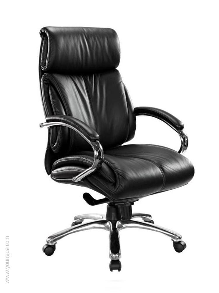 Кожаное кресло для руководителя -Вояджер (экокожа, натуральная кожа)