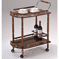 Сервировочный столик SC-5512 на колесиках.