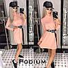 Платье Лана, ткань-ангора. Размер единый 42-46. Разные цвета. (5121), фото 4