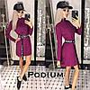 Платье Лана, ткань-ангора. Размер единый 42-46. Разные цвета. (5121), фото 7
