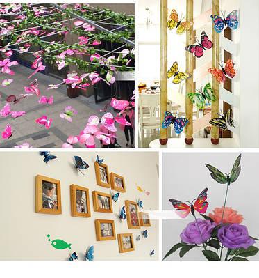 3D бабочки для декора.