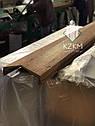 Парапетная планка под дерево, накрывка парапета, крышка парапетная, крышки парапета, фото 7