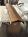 Парапетная планка под дерево, накрывка парапета, крышка парапетная, крышки парапета, фото 6