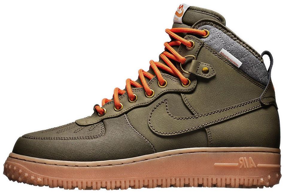 new arrival 69e97 9eedb Мужские кроссовки Nike Air Force Duckboot Dark Loden (найк аир форс дакбут)