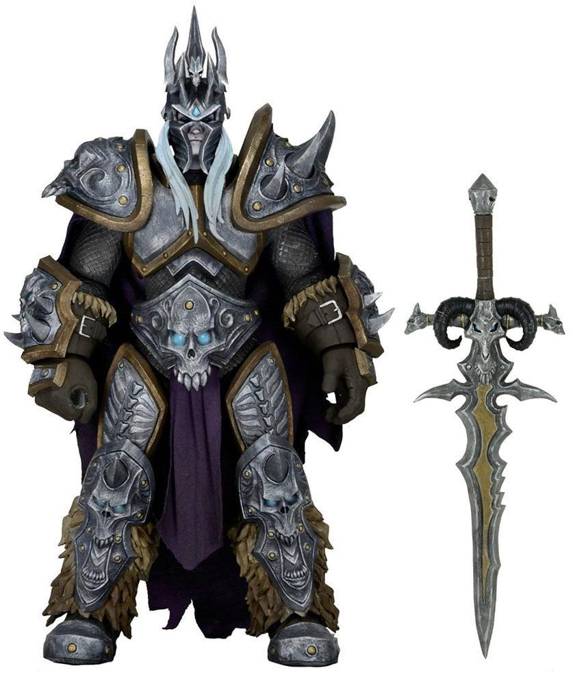 Фигурка Neca Артас Менетил (Король-лич) Герои бури (Вселенная Варкрафт) 16см - World of Warcraft