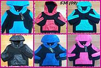 Батник детский теплый на флисе 536 (09) Код:800554480
