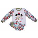 Байковая пижама для мальчика (2-6 лет), фото 2