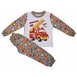 Байковая пижама для мальчика (2-6 лет), фото 3