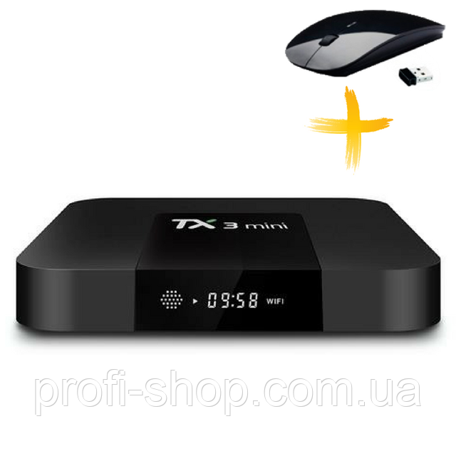Смарт ТВ приставка, Android TV Box AmiBox Tanix TX3 Mini 1Гб/16Гб