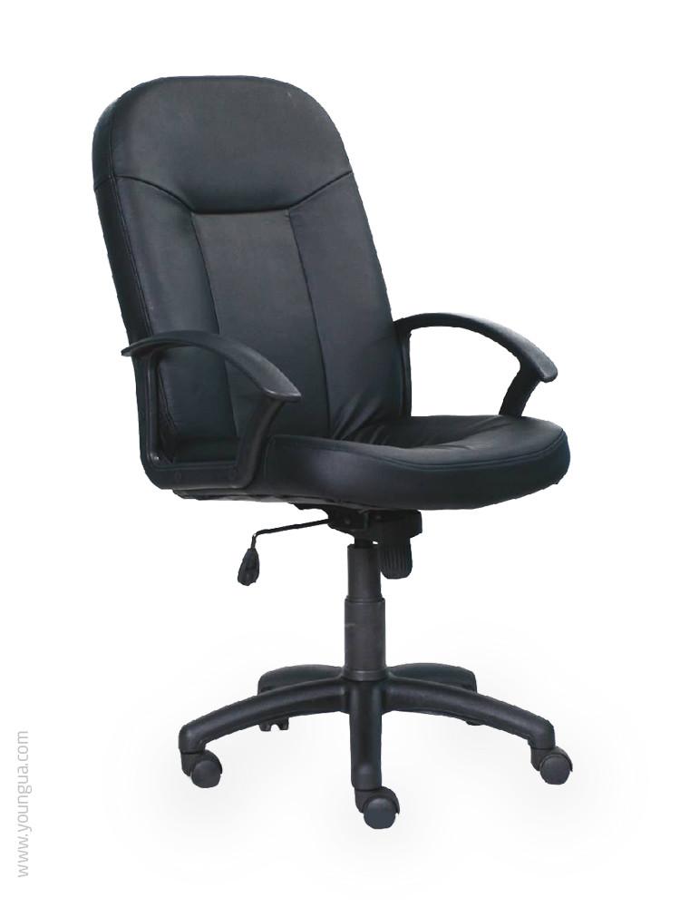Кресло для руководителя - Базис (ткань, экокожа)