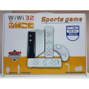 Спортивная игровая приставка WiWi 32 bit (аналог WiWi Nintendo, Xbox) встроенные 48 игр