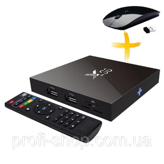 Приставка ТВ Android TV BOX X96 1GB/16GB