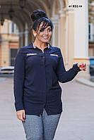 Рубашка  женская батал ат 651 гл Код:796773184