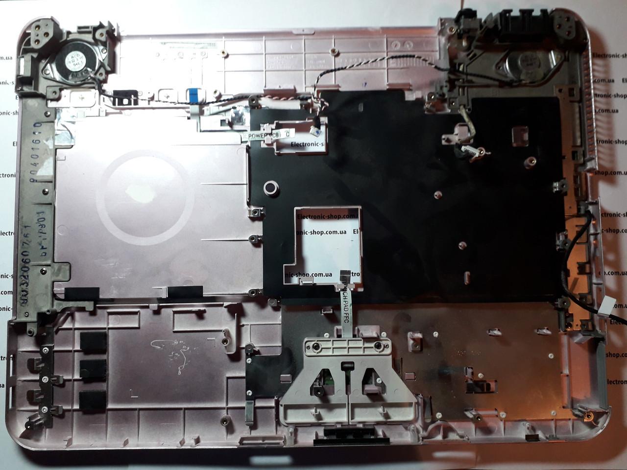 Корпус (тачпад) с колонками    Sony PCG -7154M  оригинал б.у.