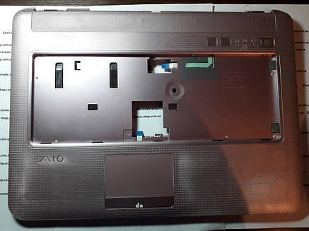 Корпус (тачпад) с колонками    Sony PCG -7154M  оригинал б.у., фото 2