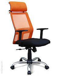 Компютерный стул с подголовником, эргономичный -Гелекси