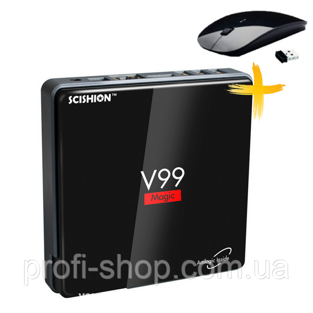 Смарт ТВ приставка SCISHION V99 2Gb + 16Gb