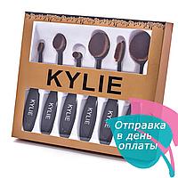 Набор кистей-щеток KYLIE 6в1