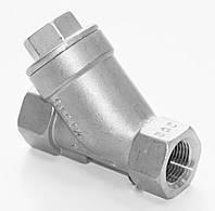 Фильтр муфтовый из нж/стали тип 2460 L-70 Dn-20