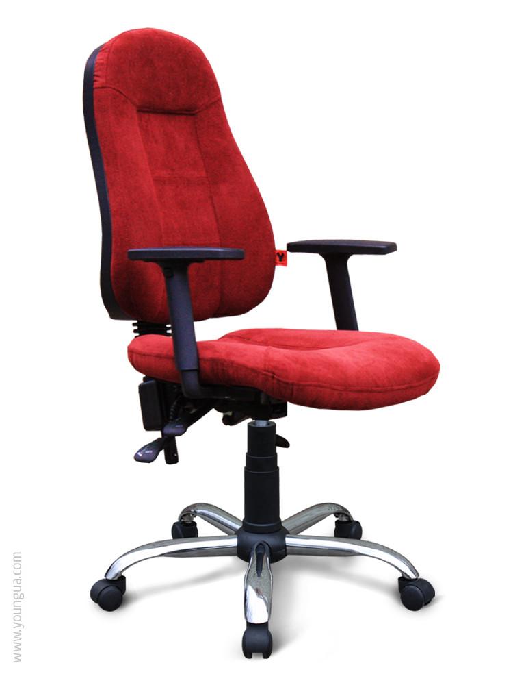 Компьюторное кресло с эргономичной спинкой-Нексус