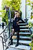 Женское замшевое платье с молнией в расцветках. Ю-7-0817, фото 6