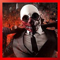 Маска клоуна грабителя Вульфа из из игры PayDay. Оригинал! Качество от производителя!