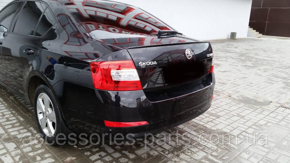 Спойлер багажника Skoda Octavia A7 Новый Оригинальный