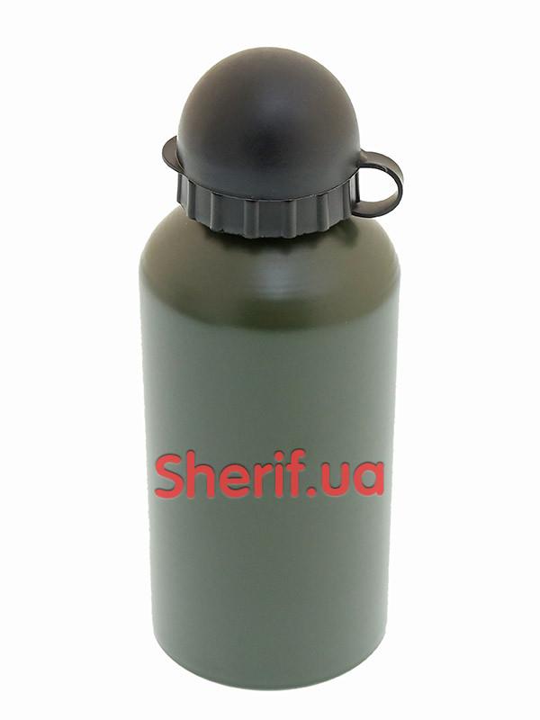 Фляга алюминиевая 500 мл. бутылка MIL-TEC  Olive, 14535010
