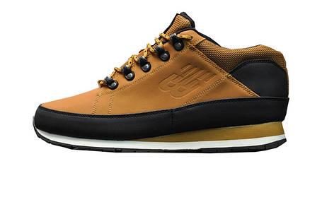 Зимові чоловічі кросівки New Balance 574 Brown/Black Winter (Термо), фото 2