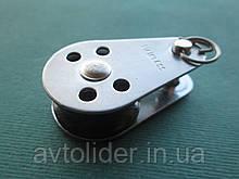 Нержавеющий мини-блок со сьемным пальцем, 6 мм