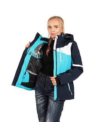 Горнолыжная зимняя женская куртка High Experience, фото 2
