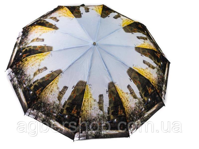 Женский зонт Три слона полуавтомат (ART-L34082-1)