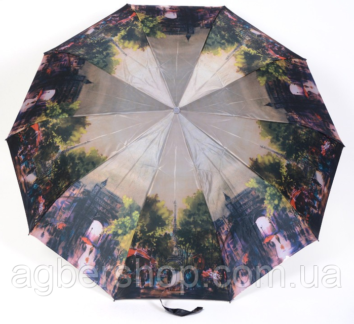 Женский зонт Три слона полуавтомат (ART-L34062)