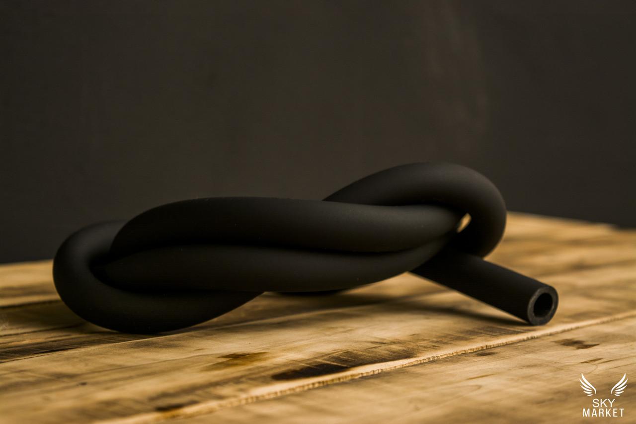 Силиконовый шланг Soft touch, Черный матовый