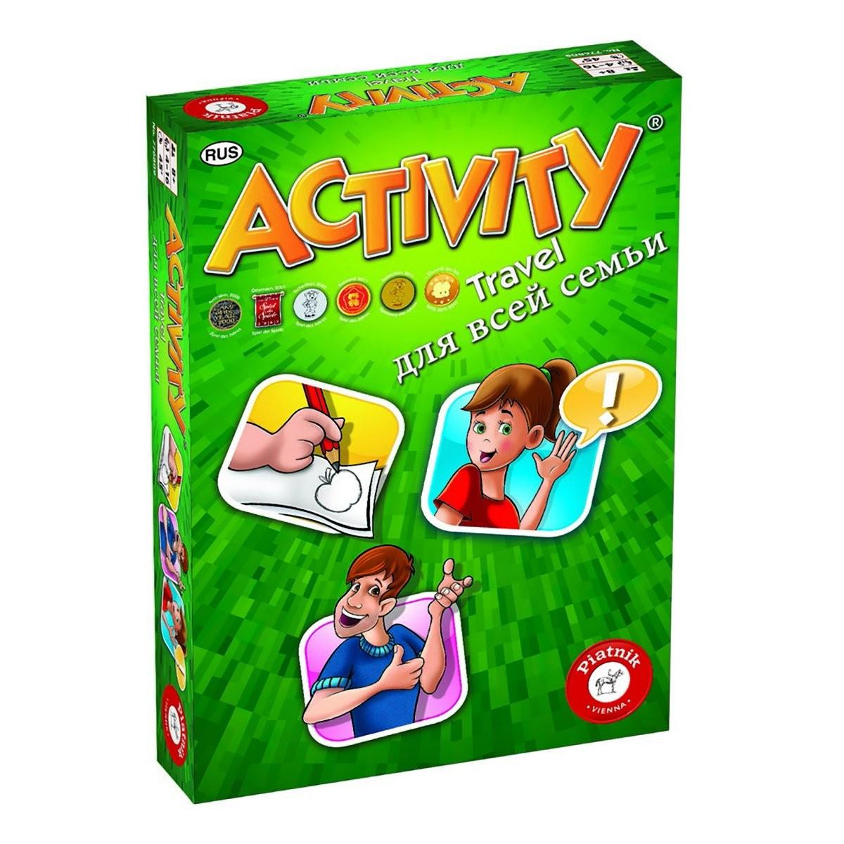"Настільна гра ""Activity Travel"""