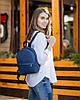 Рюкзак Fancy mini синій флай